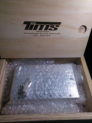 Tims Mecanizados CNC Corte por Hilo